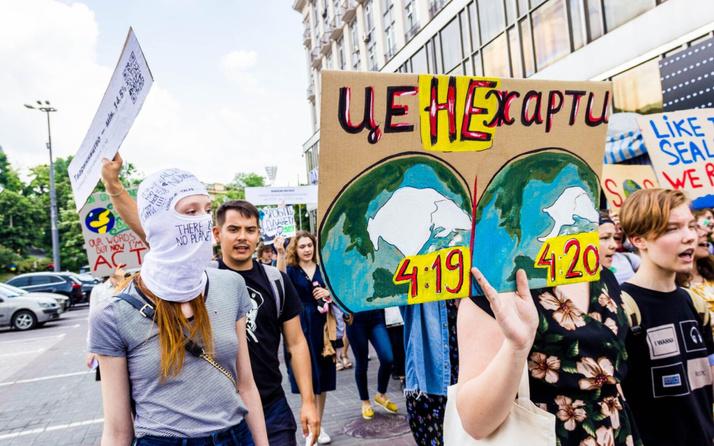 Dünyada Küresel İklim Grevi başladı Türkiye'de dahil 139 ülkede yapılıyor