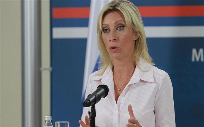 Zaharova: (ABD'li generalin açıklaması) Bunu sorumsuz tehdit olarak nitelendiriyoruz
