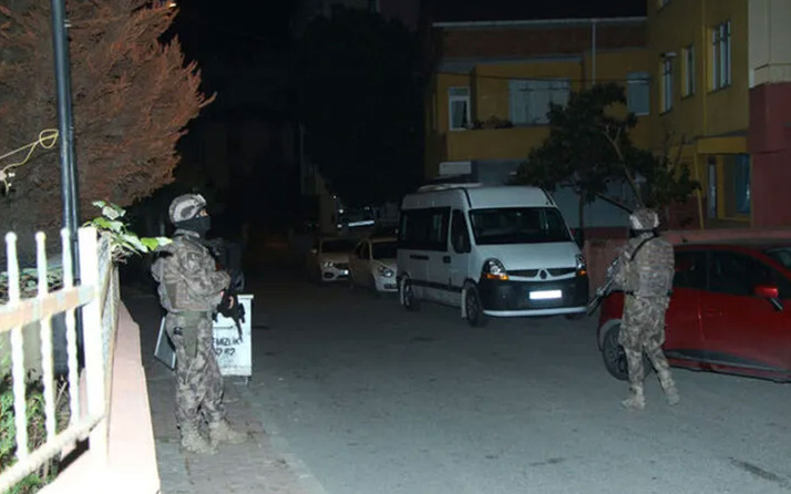 İstanbul'da dev uyuşturucu operasyonu! Çok sayıda gözaltı var
