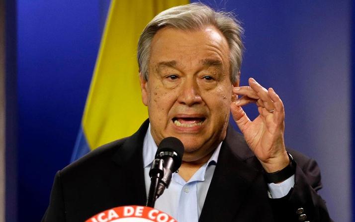 BM Genel Sekreteri Guterres'ten önemli Suriye açıklaması