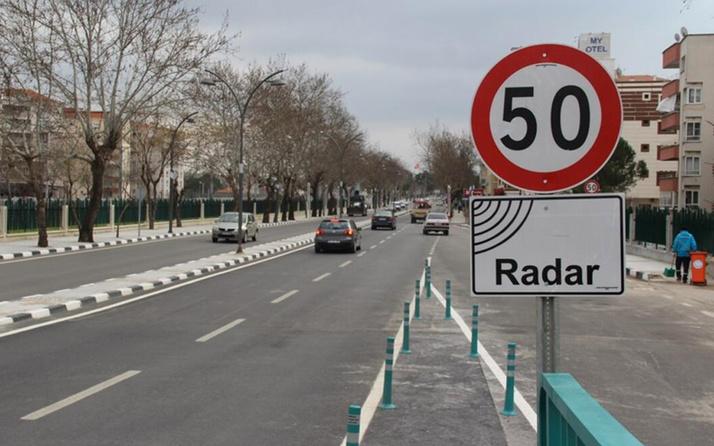 2 günde 43 bin 677 aracın 21 bin 77 sürücüsüne radar cezası