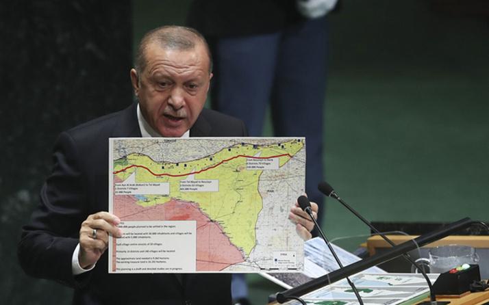 Erdoğan BM'de açıklamıştı! İşte Türkiye'nin güvenli bölge planı