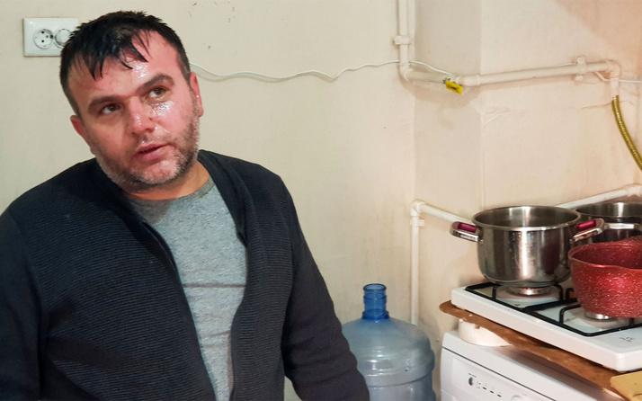 Yemek yapmak için girdiği mutfakta kabus yaşadı