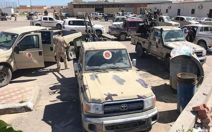 Libya'daki UMH güçleri Aziziye'de kontrolü sağladı
