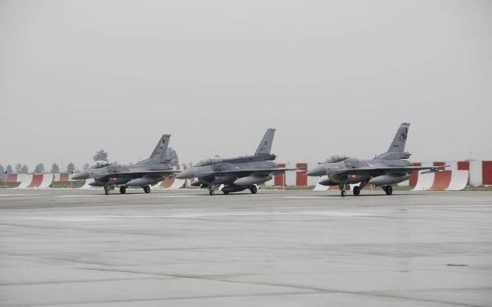 Diyarbakır'da hava hareketliliği! F-16'lar peş peşe iniyor