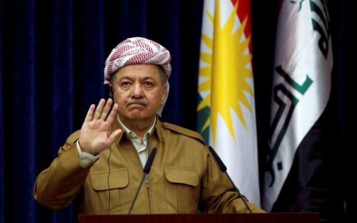 Mesud Barzani rengini belli etti! 'Batı Kürdistan' ve Trump twitlerine bakın