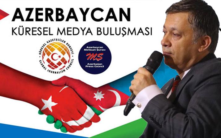 Mevlüt Çavuşoğlu'nun desteğiyle 'Küresel Medya Buluşması' Azerbaycan'da