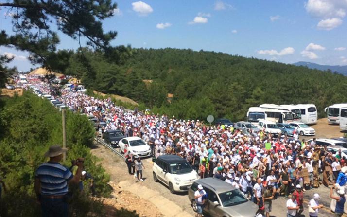 Barış Pınarı Harekatı başlayınca Kaz Dağları'ndaki mitingi iptal ettiler