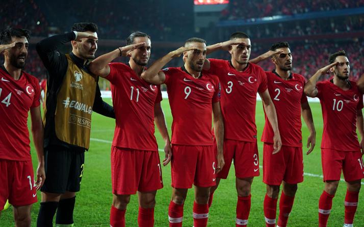 UEFA Milli Takım'ın 'Asker selamı' kararını verdi