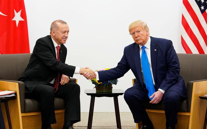 Erdoğan'dan Trump'ın twitter mesajına anlamlı yanıt!