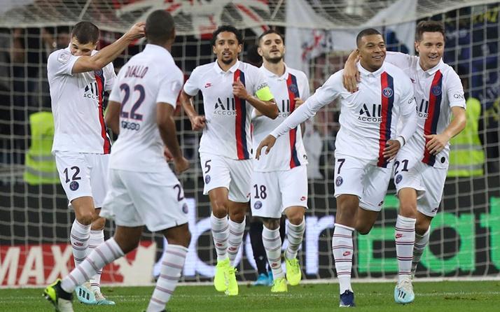 PSG, deplasmanda 4 golle kazandı