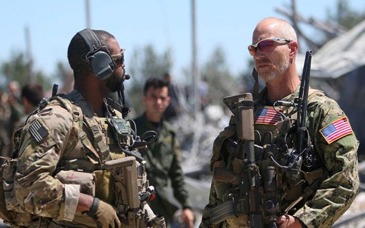 """Irak'tan """"Suriye'den gelen ABD askerlerine"""" ilişkin açıklama"""
