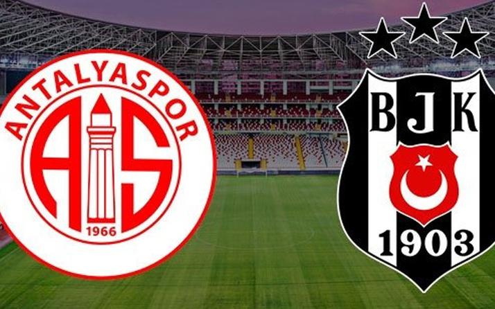 Antalyaspor Beşiktaş maçı özeti ve golleri