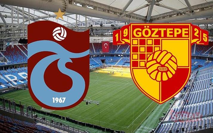 Trabzonspor - Göztepe maçı özet ve golleri