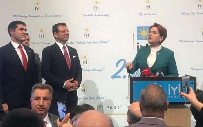 İYİ Parti lideri Meral Akşener: Size Ekrem İmamoğlu'nu getirdim