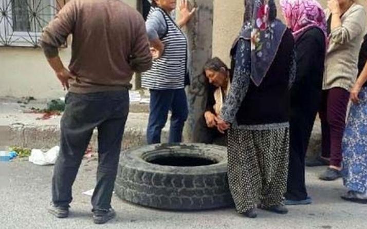 İzmir'de çocukların yokuştan yuvarladığı kamyon lastiği can aldı