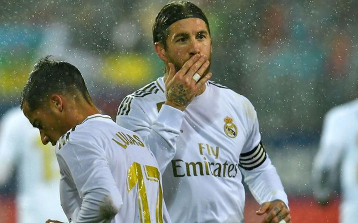 Real Madrid, deplasmanda Eibar'ı ezdi geçti