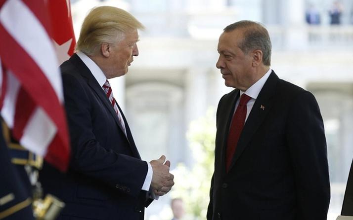 Erdoğan ile Trump arasında önemli görüşme