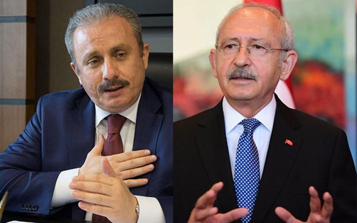 Meclis Başkanı Mustafa Şentop CHP lideri Kılıçdaroğlu ile görüşecek