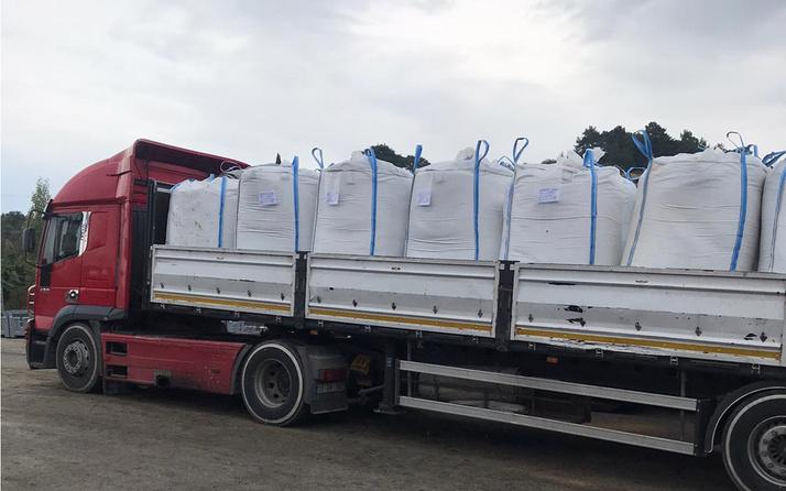 Kömüre alternatif zeytin çekirdeği, Yunanistan'a ihraç ediliyor