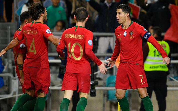 Ronaldo hat-trick yaptı İngiltere gol oldu yağdı