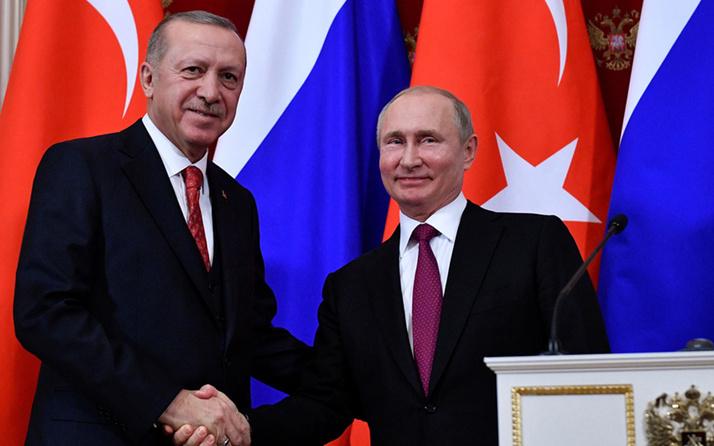 Putin başardık deyip Cumhurbaşkanı Erdoğan'a tebrik mesajı yolladı