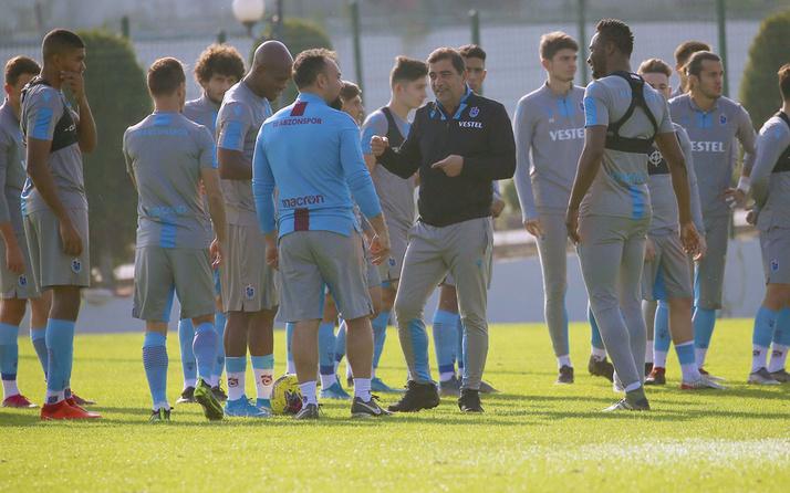 Trabzonspor milli araya aldırış etmeden çalışmalarına devam etti