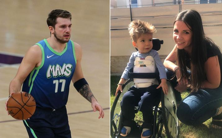 Luka Doncic 22 aylık bebeğin hayatını kurtardı