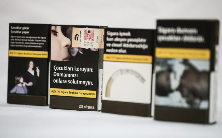 Sigara paketleri yarın itibariyle böyle olacak! Tek renk nikotin miktarı yok