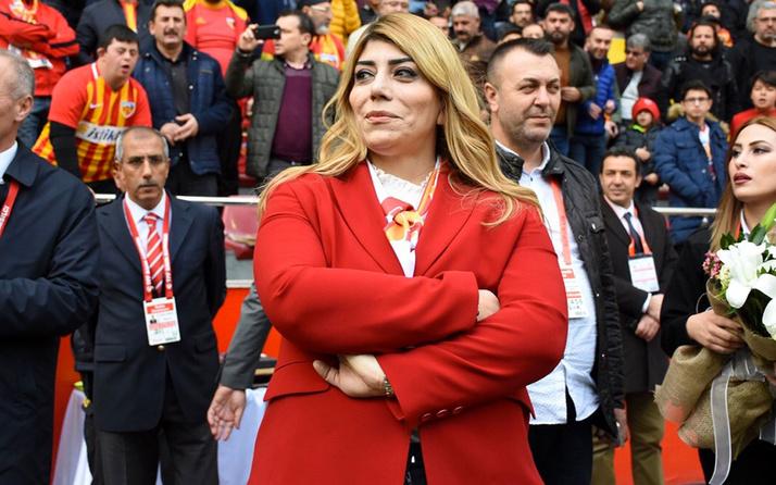 Kayserispor'da Berna Gözbaşı yeniden başkan