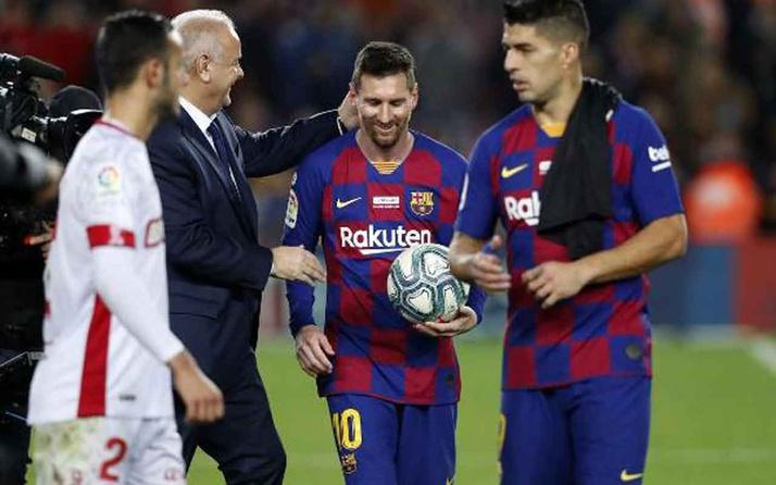 Lionel Messi La Liga tarihine geçti