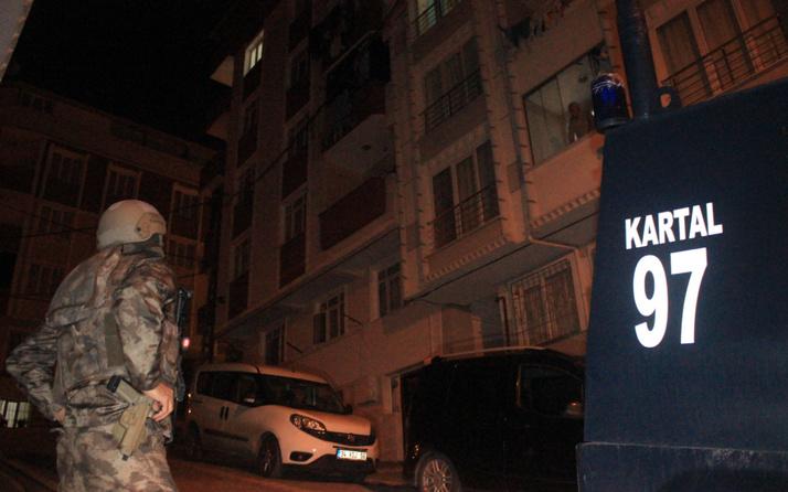 İstanbul'da silahlı suç örgütüne büyük operasyon! Gözaltılar var
