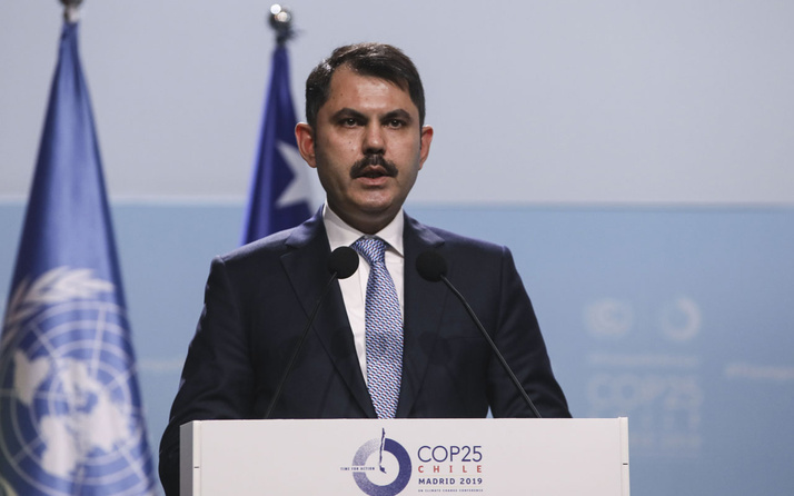 Murat Kurum BM İklim Değişikliği konferansında Türkiye adına çağrı yaptı