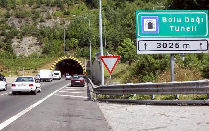 Sürücüler dikkat! Bolu Tüneli trafiğe kapalı kalacak