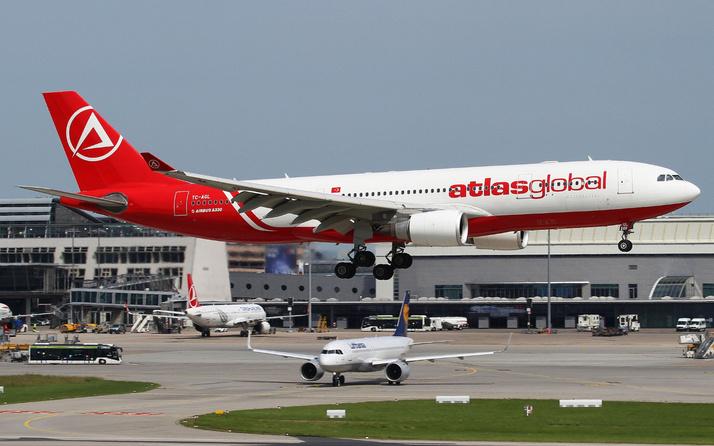 Atlas Global Havayolları 21 Aralık'ta uçuşlarına tekrar başlıyor