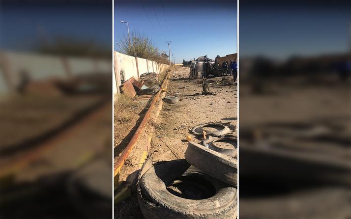 Tel Abyad'da PKK/YPG'nin tuzakladığı mayın patladı 1 çocuk ve 1 kadın öldü