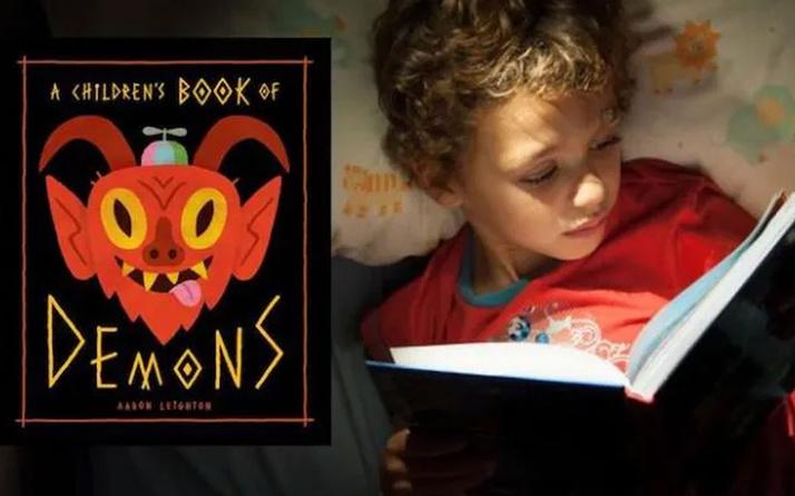 Çocuklara 'şeytan çağırmayı' öğreten kitap infial yarattı