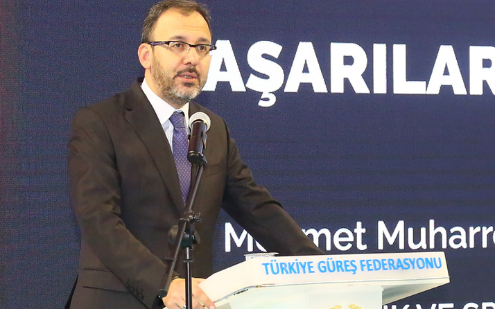 Bakan Mehmet Muharrem Kasapoğlu'ndan Meryem Erdoğan'a tebrik