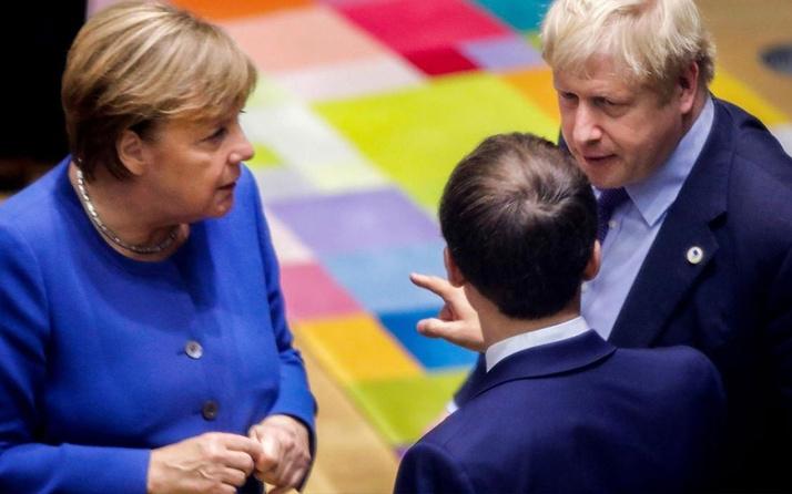 Ortadoğu savaşa sürüklenirken Fransa Almanya ve İngiltere'den ortak çağrı geldi