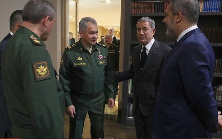 MİTBaşkanıFidan ile Rusya Savunma Bakanı Şoygugörüşmesi! Ortadoğu'daki kriz masada