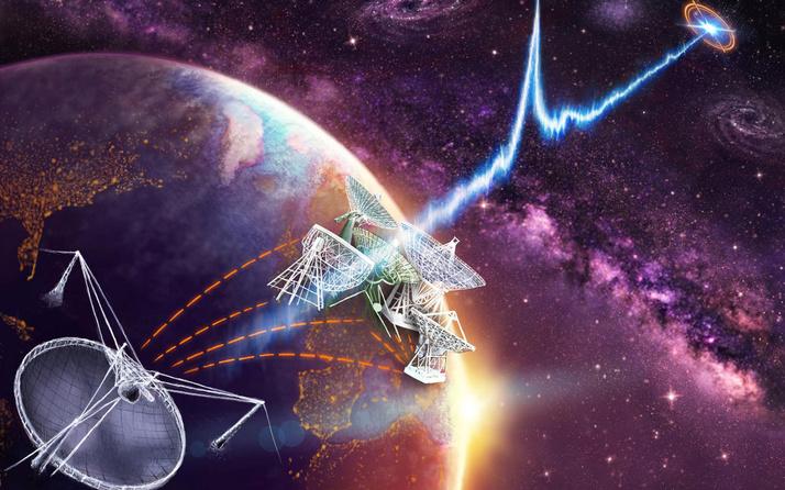Uzaydan gelen radyo sinyallerinin kaynağı belirlendi