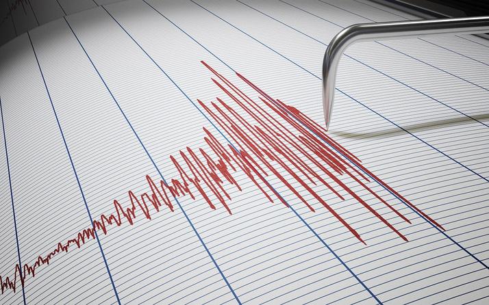 Muğla Datça açıklarında 3.9 büyüklüğünde deprem