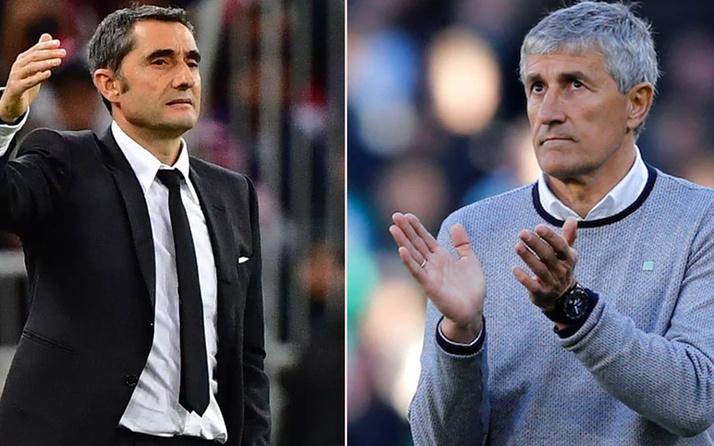 Barcelona Ernesto Valverde gitti Quique Setien geldi