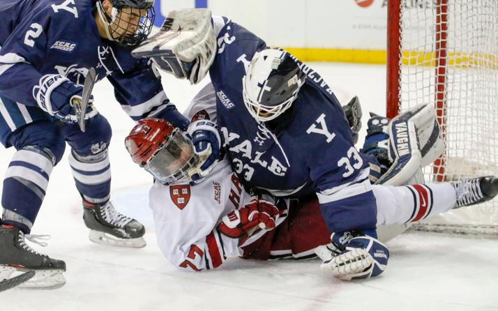 ABD'de buz hokeyi maçında kavga!