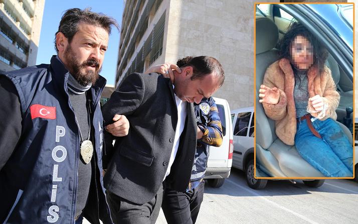 Antalya'da polis sandığı kişinin kaçırıp darp ettiği genç kız hastaneye kaldırıldı