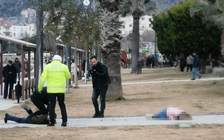İzmir'de dehşet! Silahla vurdu başında bekledi