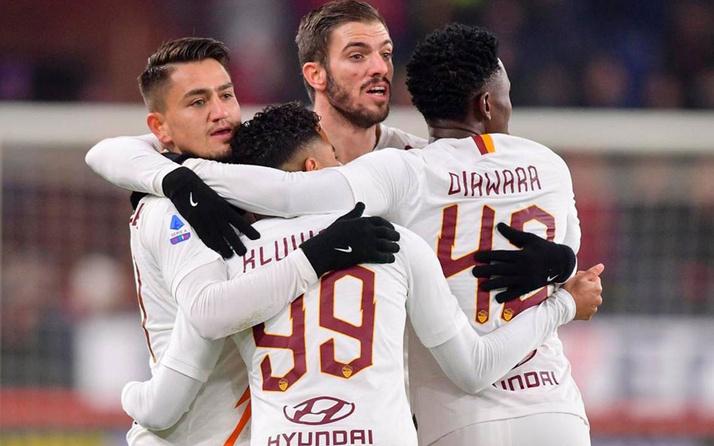 Roma kazandı! Cengiz golle geri döndü