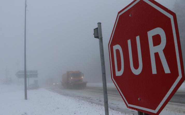 Düzce, Zonguldak ve Kütahya'da yoğun kar yağışı