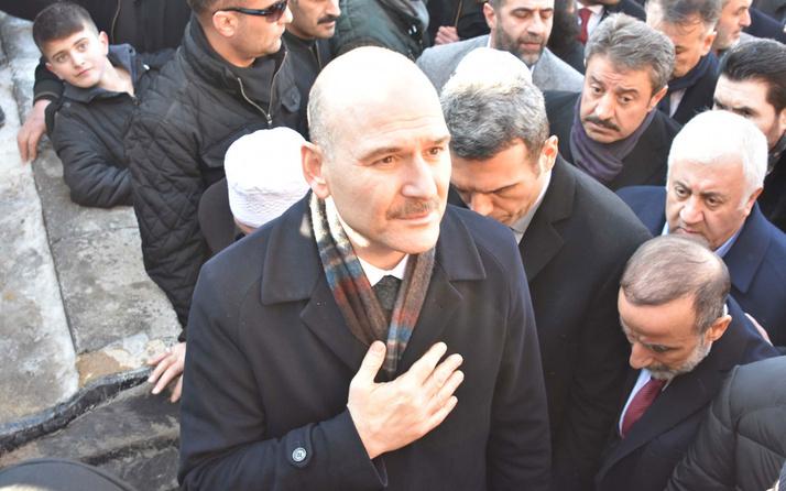 Bakan Süleyman Soylu'dan Şeyh Abdulkerim Çevik'in ailesine taziye ziyareti
