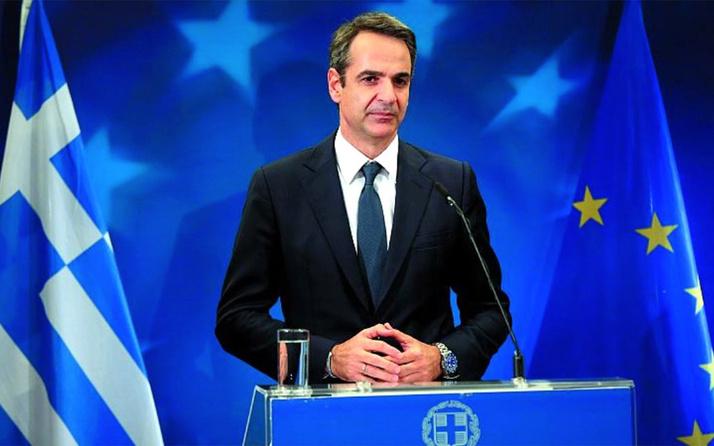 Yunanistan Başbakanı Kiriakos Miçotakis mülteciler için insanlık yapıyoruz dedi